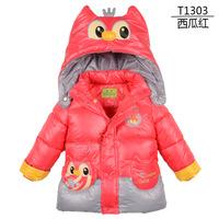 T1303 -selling 2013 Winter Kids   Girls coat   Children 's clothes   Brand Kids   Children's winter