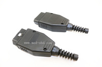 OBD2 Connector J1962m Plug with Enclosure and Cable Strain Relief