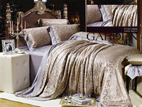 Home textile bedding kit smoothens silk four piece set 2012 02