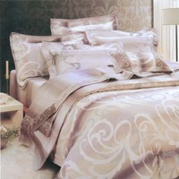 Home textile bedding kit smoothens tencel piece set
