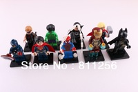 Building Bricks Toy MiniFigure Super Heroes 15pcs Ironman 6pcs Batman, Superman, Loki Green Lantern