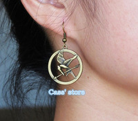 Fashion accessories the hunger games Bird earrings jewelry