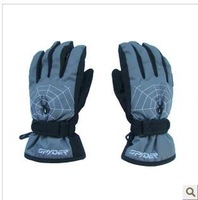 Winter warm waterproof ski gloves manufacturers selling children's free shipping
