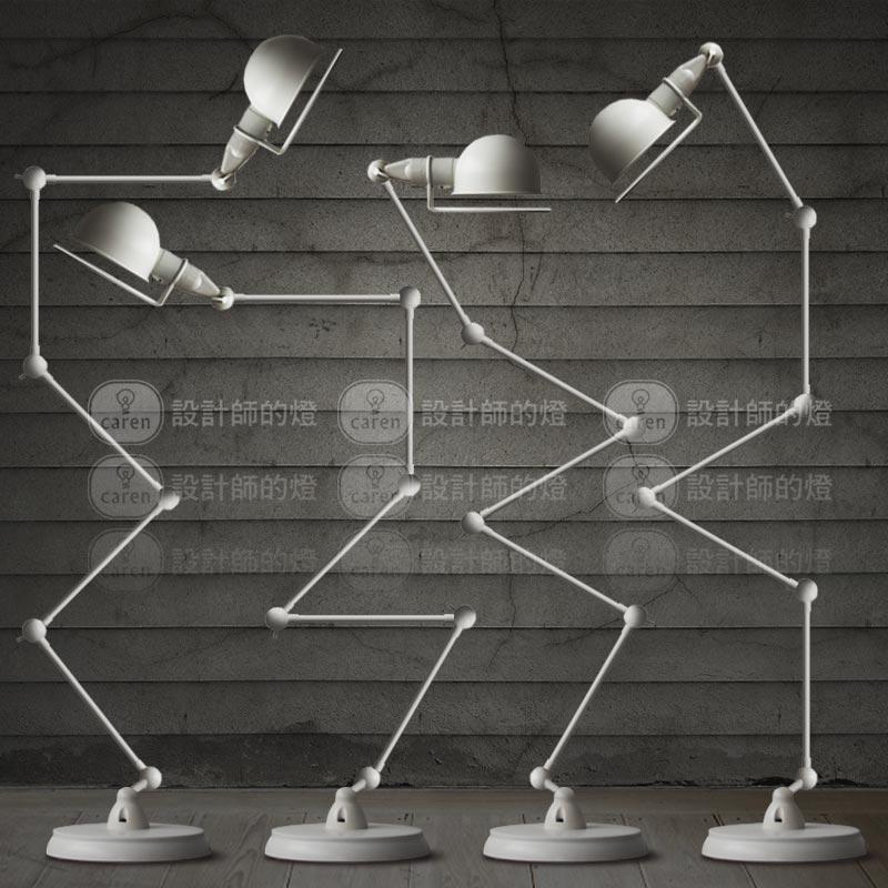 Brief bar coarse Large white mechanical floor lamp(China (Mainland))