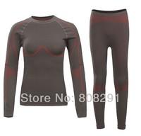 Winter Women Bamboo Charcoal Fiber Outdoor Sport Thicking Sport Body Shaper Underwear 2013 New Style 5 Sizes