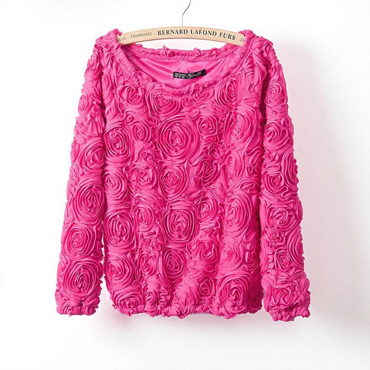 Увеличить размер свитера