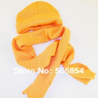 free shipping wholesale retail children and adult winter and autumen scarf&hat set