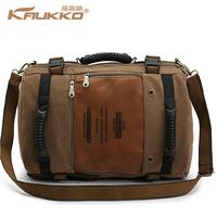 Bag bag large capacity canvas bag travel bag backpack one shoulder handbag