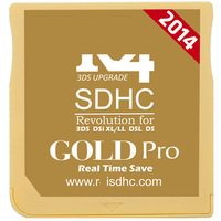 2014 Rfori SDHC Gold Pro card 3DS Flash Card, support 3DS V7.0.0-13 and DSi V1.45