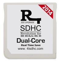 2014 SDHC White Dual Core card 3ds flashcard for 3DS V7.0.0-13, DSi V1.45