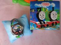 Cartoon 1pcs Watch Thomas the Tank Engine & Friends Watch kid Watch Children watch with box