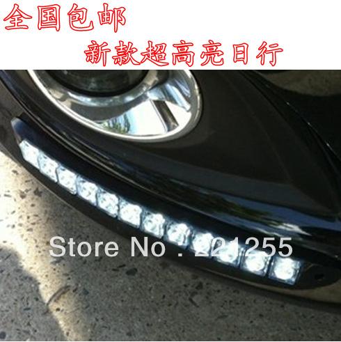 Volkswagen bora lavida passat golf gel bar led lamp waterproof daytime running towns, free shipping(China (Mainland))