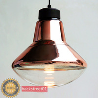 Modern TOM Dixon Copper Glass Pendant Lights Pendants Lamp Indoor Lighting Diameter 33cm