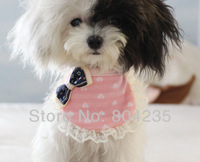 Free shipping! Wholesale 20pcs/lot size S/M  very cute cotton soft dog bandana,dog collar