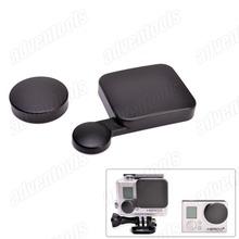 2014 new arrival Hot  sell  lens Cap kit for Gopro hero3+  gopro camera lens cap + housing lens cap