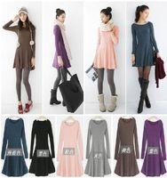 1341 m plus size plus size clothing 2013 new arrival spring all-match basic one-piece dress xxxxl