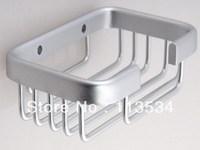 Space aluminum bathroom hardware accessories soap box soap network soap dish bathroom accessories shelf