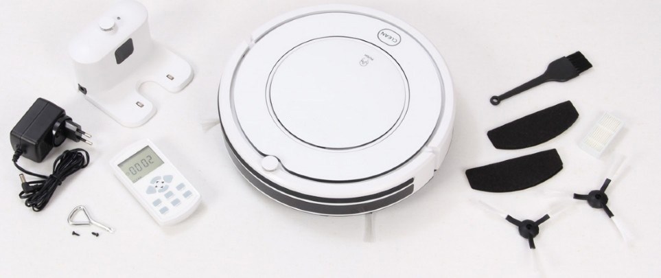 KK8 Robotic vacuum cleaner,mop/Stair Avoidance Detector assure the unit won't drop from the stairs and table(China (Mainland))