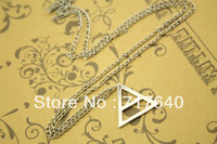 Fashion Triangle Necklace 30 Seconds To Mars jewelry, 6Pcs/lot!, Min Order $10.0,Free Shipping