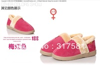 Winter women's Flat cotton shoes , Plush shoes , flat boots , fashion shoes 4 colors