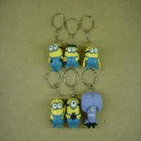 Despicable Me PVC  6 pcs  Keychain  #4