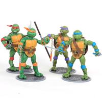 Teenage Mutant Ninja Turtles movable dolls model decoration reminisced toys