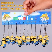 Despicable Me PVC 12 pcs  Phone lanyard #2
