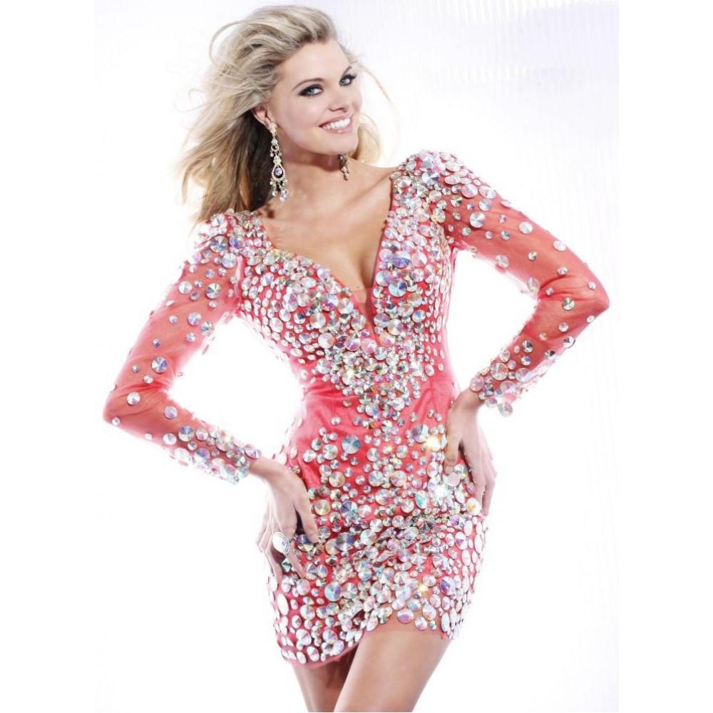 Платье на студенческий бал Party Dresses 2014  Evening Party Dresses