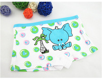 2-6 year   Children's cotton underwear models cartoon elephant children / girls cotton pants cartoon  Free shipping