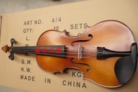 Handmade matt violin practice strings shoulder pad rosin