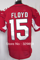 Free Shipping Cheap Wholesale Authentic Elite American Football Jerseys #15 Michael Floyd Jersey Embroidery Logos Mixed Order