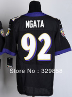Free Shipping Cheap Wholesale Authentic Elite American Football Jerseys #92 Haloti Ngata Jersey Embroidery Logos Mixed Order