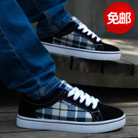2014 Hot Sale Time-limited Extrawide(e+) Massage Autumn Male Shoes Casual Elevator Skateboarding Fashion Canvas Free Shipping