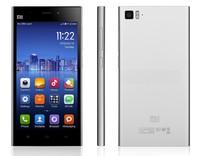 "Original Xiaomi Mi3 WCDMA Qualcomm Quad Core Xiaomi M3 Mobile Phone 2GB RAM 5"" Miui V5 1080p 13mp Camera NFC GPS"
