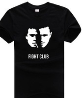 The movie Fight club personality Men's short sleeve T-shirt Pure cotton Round collar Summer wear