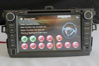 8 inch Car DVD GPS Radio for Toyota Corolla 2007 2008 2009 2010 2011, Free Map, FM/AM Radio,Bluetooth,AUX function