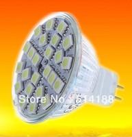 Free shipping 10pcs/lot 220V 6W mr16 GU5.3 warm white cool white300LM halogen 35-40w