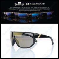 2013 New Vonzipper Frostbyte Elmore Brand Design VZ Sport Von Zipper Sunglasses Men Women oculos de sol Free Shipping