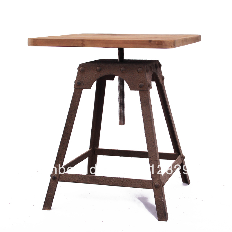 Wrought iron and wood Buy furniture wood and iron- Source furniture wood  and iron,iron
