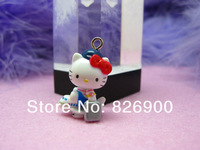 10 pcs Hello Kitty with Airplane Pendant Charm Lovely Fashion Gifts ALK701 Wholesale
