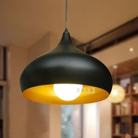 Pendant light single-head restaurant lights modern brief living room lights bar aluminum light