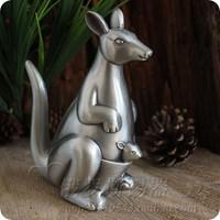 Cute Baby gift tinwares decoration tin metal piggy bank kangaroo Money Boxes