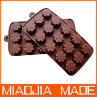 2pcs/ lot Cherry cake mold silicone baking mold tool porous chocolate pudding ice lattice Soap
