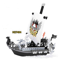 Ausini Pirate Series Pirate Ship No.N27404 Building Blocks Sets 129pcs Educational DIY Self-locking Bricks Toys for Children