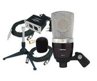 ALCTRON MC410 Large Diaphragm Stage/Studio Condenser Recording Microphone Kit Free shipping