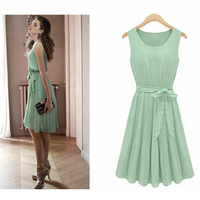 Free shipping wholesale European and American minimalist dresses 2014 dress creaser women's Celebrity Dresses