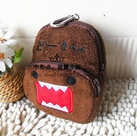 Domo-kun plush purse small bag phone bag camera bag