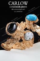 S small personalized gorgeous vintage gem bracelet 10 set