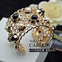 Fashion van of luxury small cc empty thread bracelet adjustable