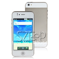 "I5 4 "" Android 4.1 MTK6577 Dual Core Quad Band Smart Cellphone 5.0MP 1G 4G WIFI 3G  86020102800"